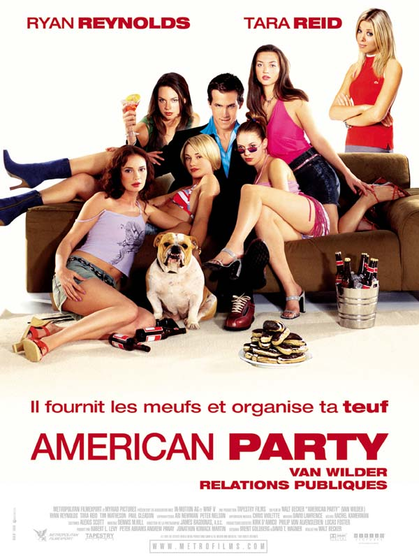 American party   Van Wilder relations publiques streaming